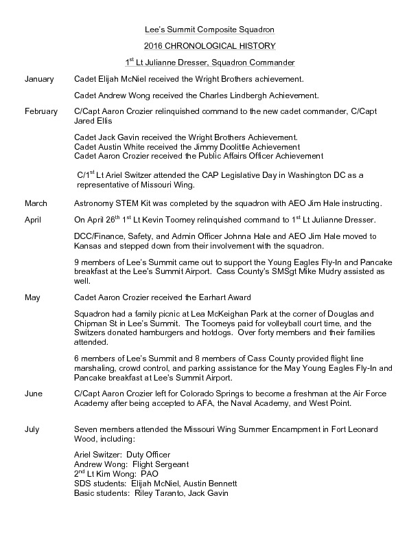 MO-126 - Lee's Summit Composite Squadron - 2016 History.pdf