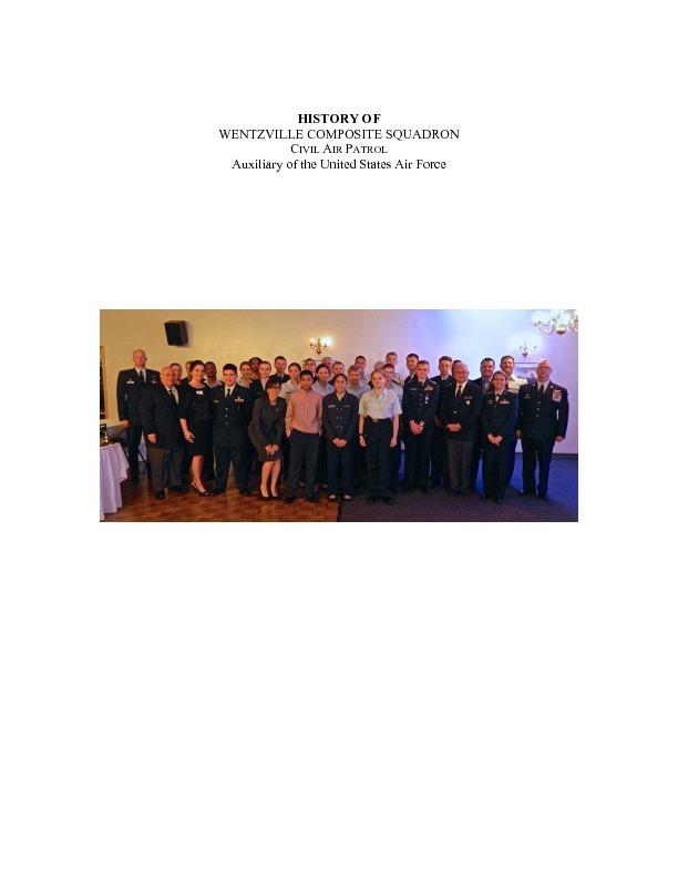 MO-110 - Wentzville Composite Squadron - 2016 History.pdf