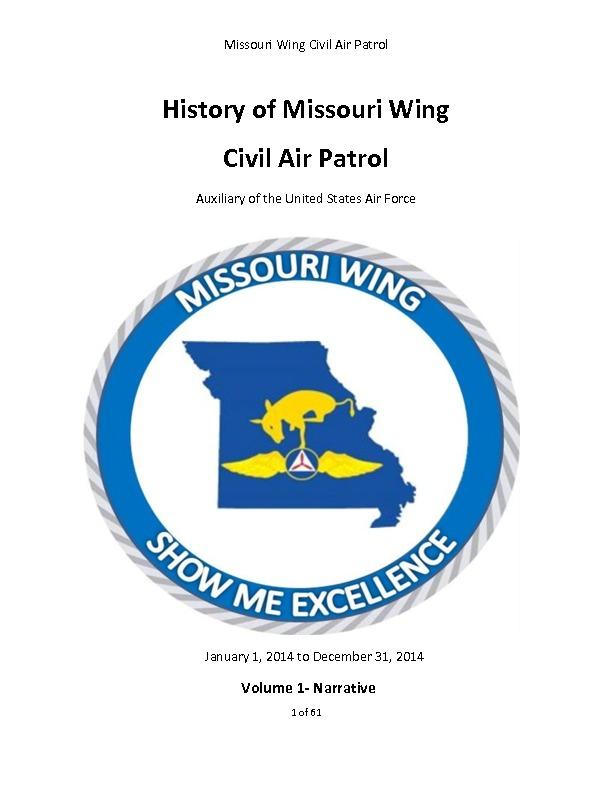 2014 Missouri Wing History