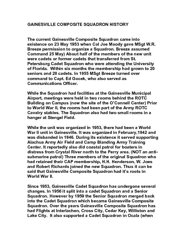 GAINESVILLE COMPOSITE SQUADRON HISTORY.pdf
