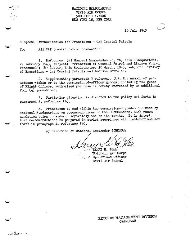 WWII Office of Civilian Defense Civil Air Patrol Memo Referencing GM-76.pdf