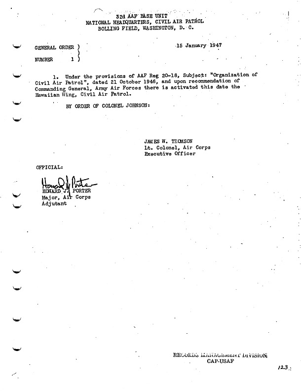 General Orders No. 1 January 15, 1947.pdf