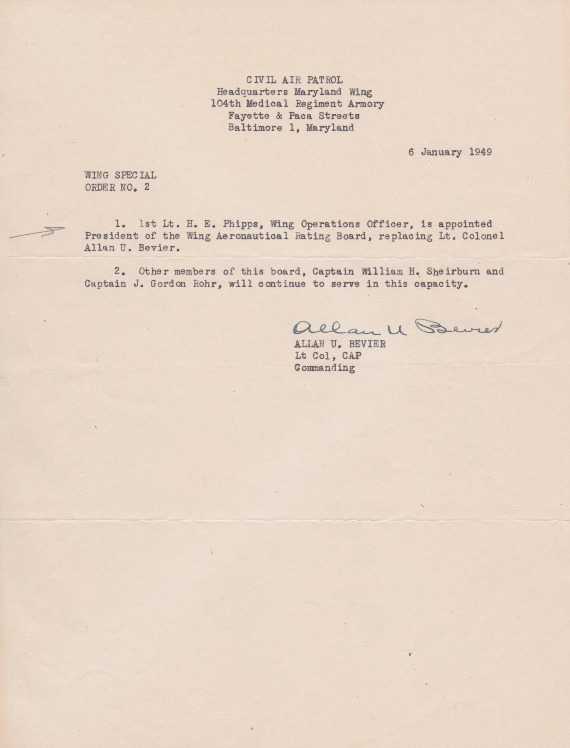 Phipps-6 January 1949-Wing Special Order No. 2.pdf