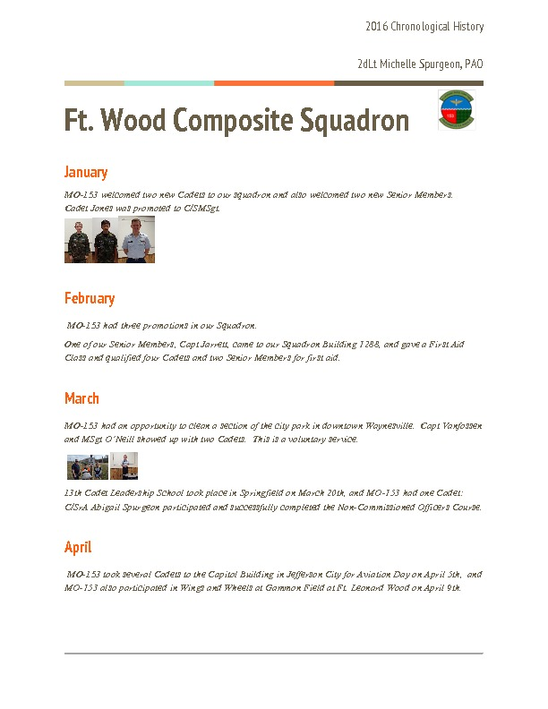 MO-153 - Ft. Wood Composite Squadron - 2016 History.pdf