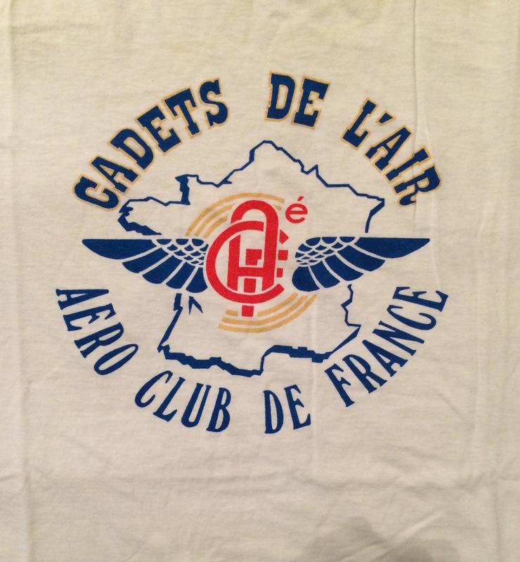Cadets de L'Air - Aero Club de France T-shirt.JPG