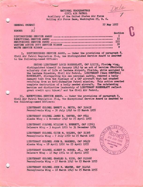 General Orders No. 31 May 27, 1955.pdf