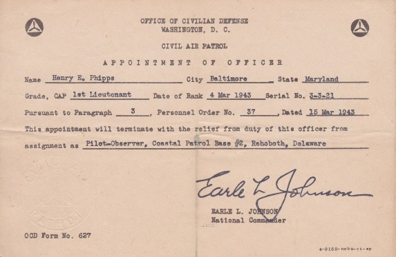 Phipps-19 Mar 1943-Appointment of Officer.pdf
