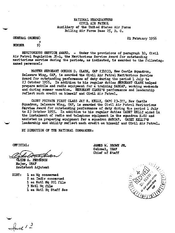 General Orders No. 9 February 21, 1956.pdf
