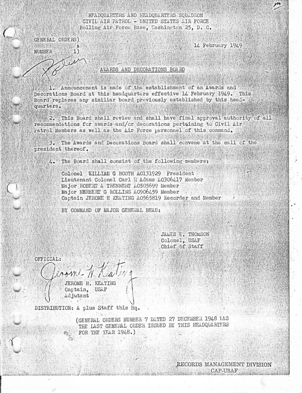 General Orders No. 1 February 14, 1949.pdf