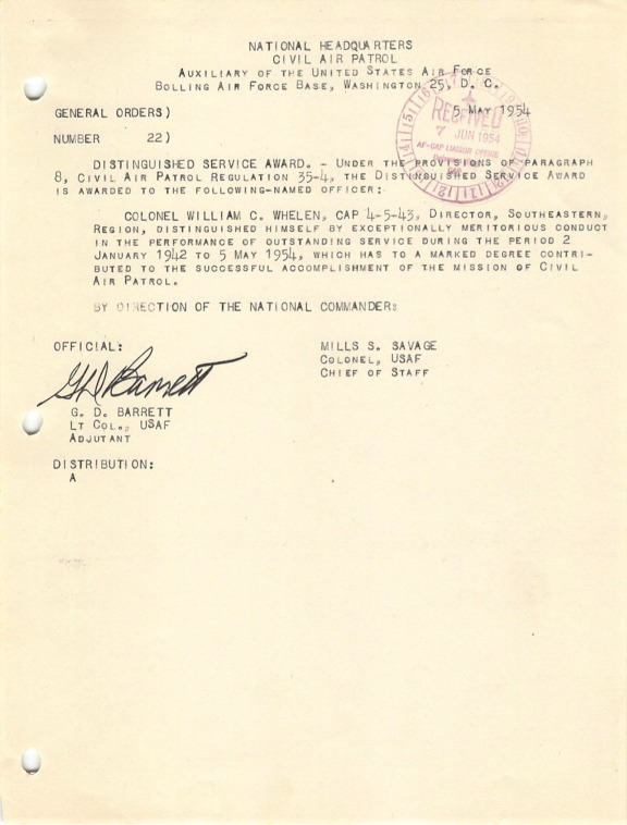 General Orders No. 22 May 5, 1954.pdf