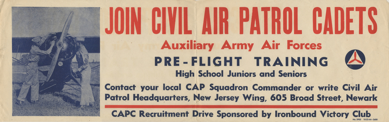 """Join Civil Air Patrol Cadets"" Poster"