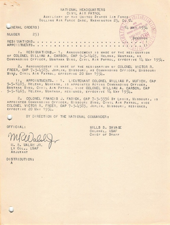 General Orders No. 25 May 14, 1954.pdf
