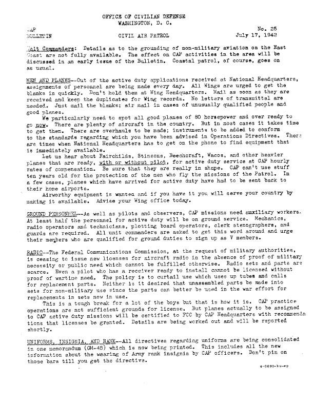 CAP News Bulletin No. 25, 17 July 1942.pdf