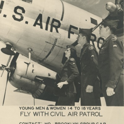 """Fly with Civil Air Patrol"" Poster"