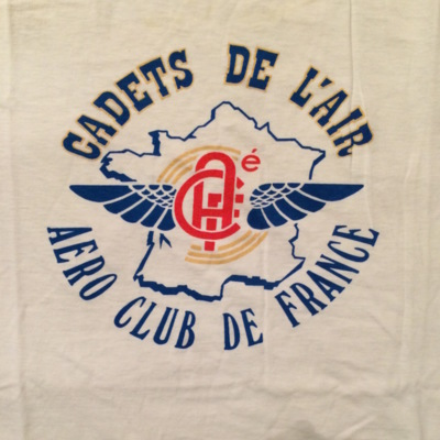 Cadets de L'Air - Aero Club de France T-Shirt