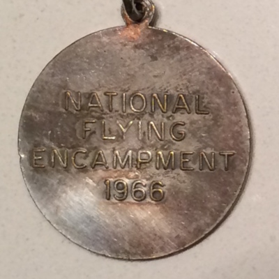 1966 Flying Encampment Keychain