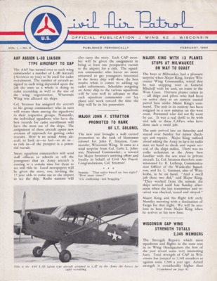 Official Publication Wing 62 Wisconsin Vol. 1.-No. 8 February, 1944.pdf
