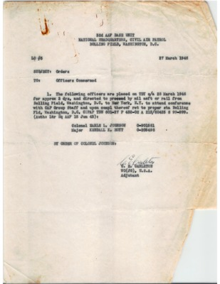 Personnel File--Memorandum [Orders]--27MAR1946.pdf
