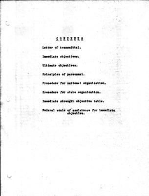 Original Civil Air Defense Services Plan