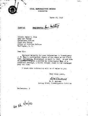 Civil Aeronautics Board Investigator's Report - Coastal Patrol Base No. 11 - 19 March 1943.pdf