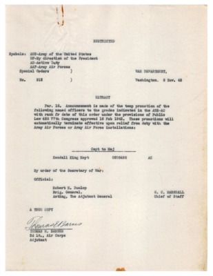 Personnel File--War Department Special Orders No. 312--08NOV1943.pdf