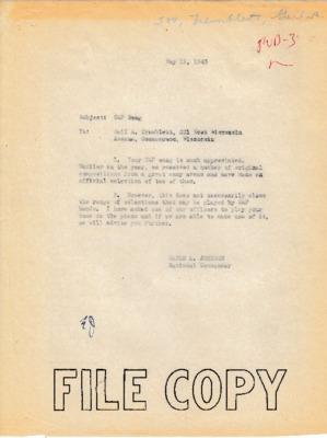 Earle L. Johnson to Gail A. Tremblett - 19 May 1943.pdf