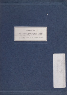 History of HQ. Civil Air Patrol - USAF, FY 1972.pdf