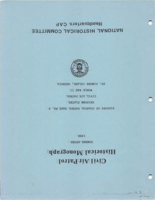 CAP Historical Monograph Number 7.pdf
