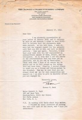 CAP Correspondence [Received]--Beck, Thomas H.--17JAN1945.pdf