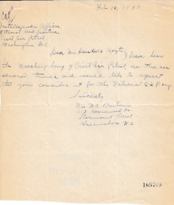 N.C. Barbour to Kendall K. Hoyt - 12 February 1943.pdf