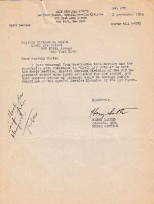 Harry Salter to Richard S. Wolfe - 3 September 1943.pdf