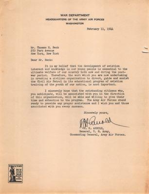 CAP Correspondence [Received (Beck, Thomas H.)--Arnold, H.H.--11FEB1944.pdf