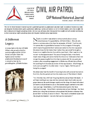 Civil Air Patrol National Historical Journal