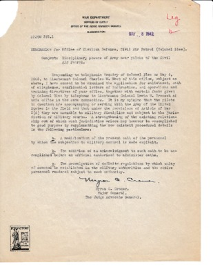 Myron Cramer to Harry Blee - Discipline powers - 8 May 1942.pdf