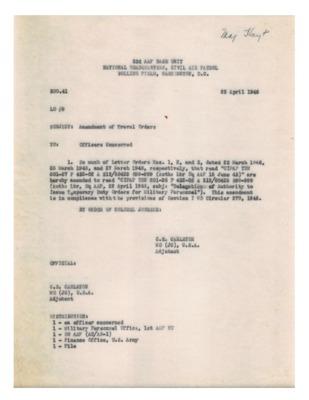 Personnel File--Memorandum [Amendment of Travel Orders]--23APR1946.pdf