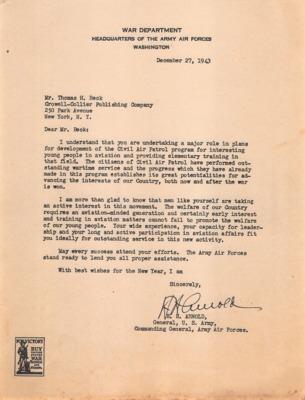 CAP Correspondence [Received (Beck, Thomas H.)]--Arnold, H.H.--27DEC1943.pdf