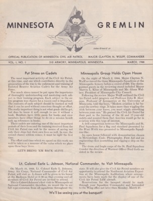 Minnesota Wing Journals