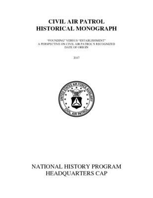 Historical Monographs (CAP National History Program Collection)