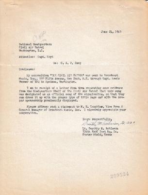 Dorothy M. Robinson to Kendall K. Hoyt - 21 June 1943.pdf