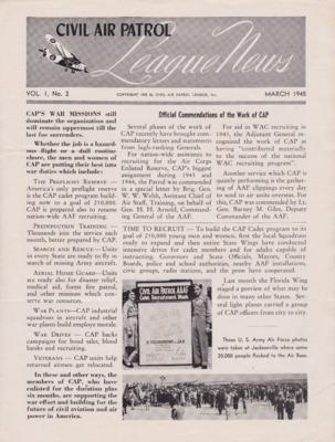 Civil Air Patrol League News