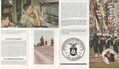 Civil Air Patrol Cadet Program Brochure - 1993