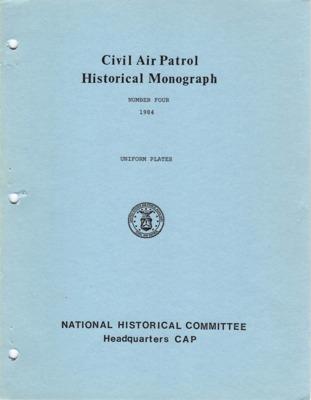 CAP Historical Monograph Number 4.pdf