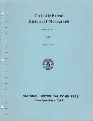 CAP Historical Monograph Number 1 1984.pdf