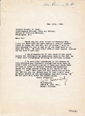 W.H. Perrins to Kendall K. Hoyt - 11 February 1943.pdf