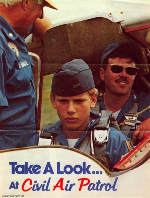 """Take a look at Civil Air Patrol"" Flyer"