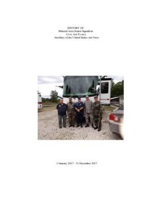NCR-MO-144 - Mineral Area Senior Squadron - 2017 History