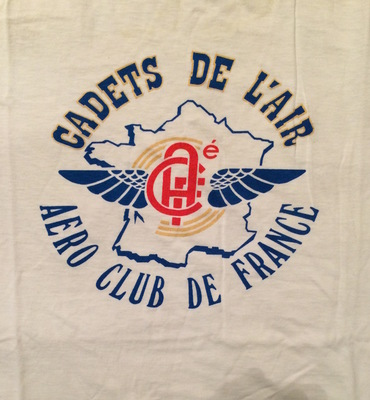 Cadets de L'Air - Aero Club de France T-shirt.JPG