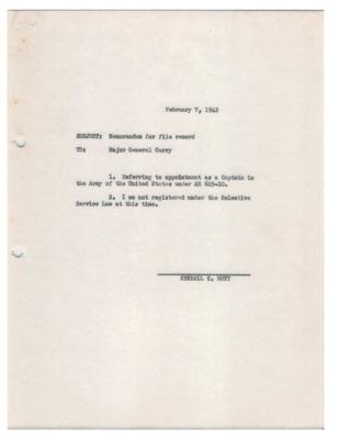 Personnel File--Memorandum for file record--07FEB1942.pdf