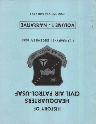 History of HQ. Civil Air Patrol - USAF, 1982.pdf