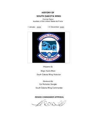 SDWG 2020 Annual History.pdf